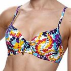 LEPEL FABULOUS FIESTA UNDERWIRED BIKINI TOP CHEST 38  B-D-DD-E-F-G  BNWT