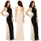 Womens Celebrity Style Illusion Sleeveless Ladies Bodycon Party Tunic Long Dress