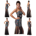 2014 Bridesmaid Dress Sequins Party Evening Formal Ball Prom Cocktail Long Dress