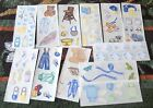 Creeative Memories 2x5 Studio Sticker Strip~U Choose~Things For A Baby Boy