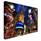 Large NYC New York Streets Canvas Wall Art Print Large + Any Size