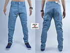 BNWT Jack and Jones Mens Chinos Trousers Jeans Blue Vairous Sizes RRP £45.00