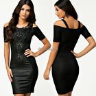 New Women Sexy Slim Bodycon Bandage Dress Cut Out Outfit Clubwear Party Dress C1