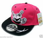 Kids Snap back Caps Animal Style Pink/Black Adjustable Size