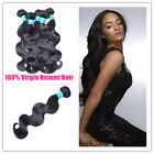 3 Bundles Full Head 100% Unprocessed Peruvian Human Hair Extensions Body Wave