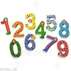 Wooden Clown Number NEW Personalised Numbers £2.95 Flat Rate P&P within UK