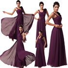 New Chiffon Evening Gown Wedding Bridesmaid Dress Party Formal Prom Long Dresses