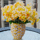 60 Heads Artificial Campanula Silk Flowers Home Wedding Party Home Decors Bride