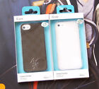 iPhone 5/5S 100% Authentic iLuv Gelato Checker Case-Clear and Brown