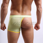 Hot Sexy Mens Underwear Shorts Boxer Briefs Bulge Enhance Pouch 3 Size S M L