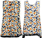L20 NEW WOMENS LADIES GIRLS SLEEVELESS PLAID CAMI VEST TOP DRESS IN SIZE 08-14