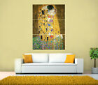 Gustav Klimt - The Kiss GIANT Print Poster, Various sizes from A4