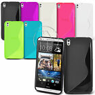 Wave S Line Gel Case Silicone Case Cover For HTC Desire 816