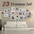 23 Piece Multi-Picture Collage Photo Frame Frames Aperture Art Deco Wall Set