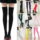 Sexy Womens Lady Girls Fashion Opaque Knit Over Knee Thigh High Stockings Socks