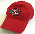 NHL Montreal Canadiens Vintage 80 Wool Mitchell and Ness Fitted Cap Hat M