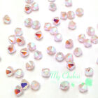 Rose Water Opal AB 2x (395 AB2X) Swarovski 5328 / 5301 4mm Crystal Bicone Beads