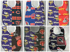 Handmade House Divided Baby Bibs made with NFL fabric