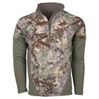 KING'S Camo Mountain Shadow Mens XKG Hightop 1/4 Zip Pullover XKG4210MS L XL 2XL