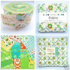 MODA FOLKLORE by Lily Ashbury jelly roll  layer cake or charm pack 100 % cotton