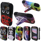 For Samsung Galaxy Exhibit T599 STAND HYBRID Silicone HARD Case Cover + Pen