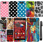 For Motorola Droid Ultra XT1080 Design Image PATTERN HARD Case Phone Cover + Pen