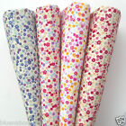 per half metre fat quarters confetti sprinkle 100% cotton fabric 4 colours