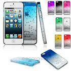 ULTRA HOT 3D AQUA WATER RAINDROP CRYSTAL SERIES BACK CASE COVER FOR IPHONE 5 5S