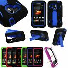 Rugged Hybrid Hard Silicone Case Kickstand Cover For Samsung Galaxy Rush M830