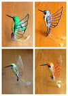 SOLAR Fluttering Flying Bird garden stake HUMMINGBIRD