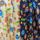 "per 1/2 metre under the sea fish fabric 44""(112cm) wide 100% cotton"