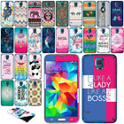 For Samsung Galaxy S5 G900 I9600 VINYL DECAL Sticker Body Phone Cover Protector