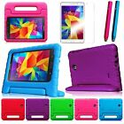 For Samsung Galaxy Tab 4 8.0 Shock Proof Kids Handle Case Cover/ 2xCrayon Stylus