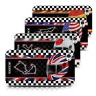 Hard Case for Apple iPhone 4/4s Designer Fashion Bling Cover / 2014 F1 Tracks