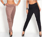 Glamour Empire  Women's Mid Rise Full Lenght Buggy Harem Trousers  135
