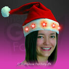 Light Up Santa Hat Father Christmas Flashing Xmas Hat