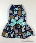 Once In A Whale Dog Harness Dress Size XXXS-Medium by Doogie Couture