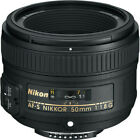 NEW Nikon 50mm f 1.8G AF-S NIKKOR Lens for Nikon DSLR Cameras