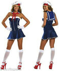 Sexy Navy with Red Detail sea sailor costume Halloween christmas party CLEARANCE