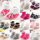 New Newborn Love Baby Girl&Boy Anti-slip Socks Slipper Shoes Boots 0-18 Months