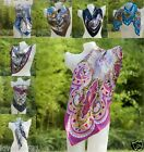 women's accessories 100% Silk scarf for Scarves Paisley Wrap Shawl pashmina