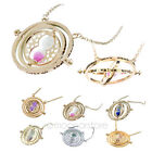 Harry Potter Hermione Granger Rotating Spins Hourglass Time Turner Necklaces