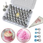 24 52 Steinless Steel Icing Piping Nozzles Tips Set Cake Decorating Sugarcraft A