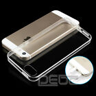 Thin Soft Silicone TPU Transparent Clear Case Cover Skin for Apple iPhone 4S 5S