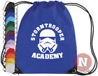 Stormtrooper Academy Star Wars sports kit bag. Drawstring school books PE
