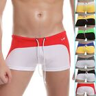 Sexy Men's Underwear Smooth Boxer Shorts Briefs Swimwear Pants Underpants S M L