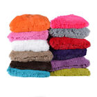 """Very Soft & Comfy Plush Long Faux Fur 18"""" x 18"""" Throw Pillows 2 pack- 12 Colors"""