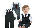 Baby Boy Formal Wedding Party Tuxedo, Pageant Christening Baptism FW Winter 3-18