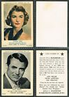 A&BC - Film & TV Stars 2nd Series 1953 #49 to #96 UK Gum Cards (£2.75 each)