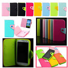 For Samsung Galaxy Ring Prevail 2 M840 PU Leather Flip Wallet Case ID Card Slot